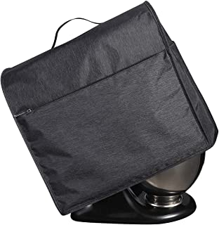 Stand Mixer Dust Cover for Kitchen Aid Tilt Head Stand Mixer, 4.5-5 Quart Mixer Accessories Cover with 4 Pockets and Handle
