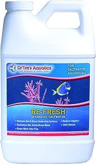 DrTim's Aquatics Saltwater Aquarium Products, 100% Natural Eco-Friendly Fish Tank Cleaner, Clarifies Water, Removes Toxin,...