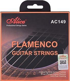 yongluo AC149-N Classical Guitar Strings Crystal Nylon & Carbon (G) Guitar String Set for Flamenco Guitars Classical Guita...