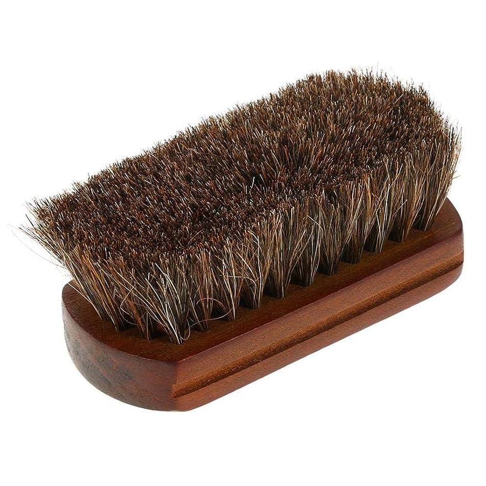 Shaving Brush Beard Cleaning Men's Wood Handle Horse Hair Facial Beard Mustache Brush Barber Salon Appliance Tool