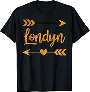 LONDYN Personalized Name Funny Birthday Custom Mom Gift Idea T-Shirt