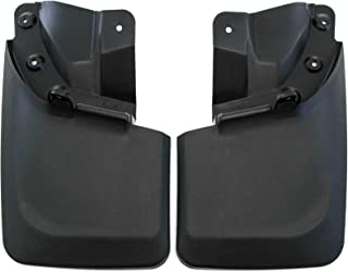 2016-2019 Compatible with Toyota Tacoma Mud Flaps Guards Splash Guard Rear Molded 2pc (with OEM Fender Flares Only)
