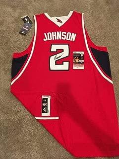 Joe Johnson Autographed Signed Official Swingman Jersey Hawks Rockets JSA Coa
