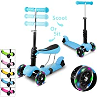 WeSkate Kids Scooter with Reovable Seat