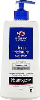 Neutrogena Norwegian Formula Deep Moisture Body Lotion Sensitive, 400mL