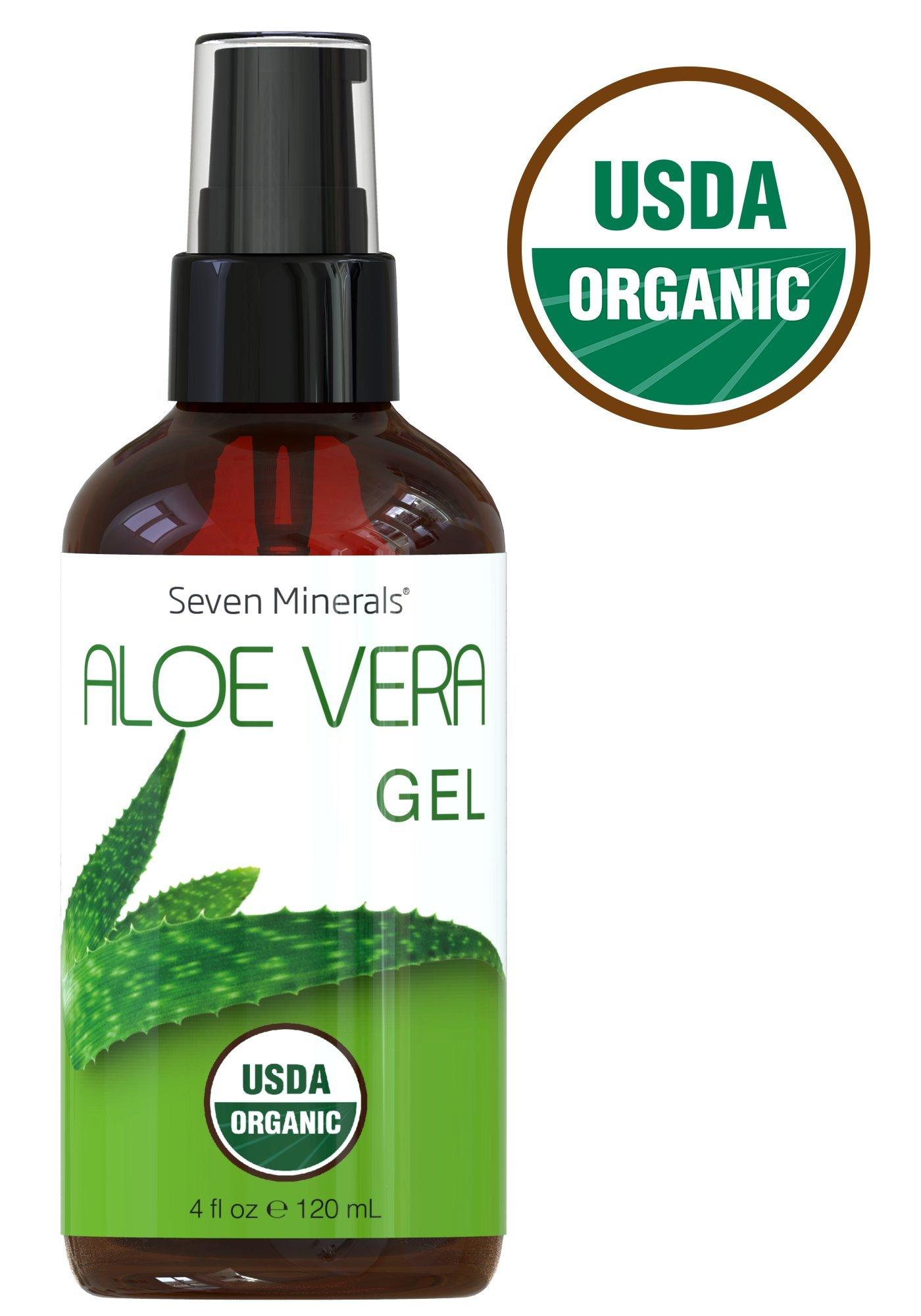 USDA Organic Aloe Seven Minerals