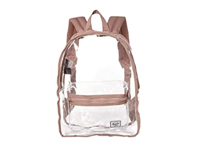 Herschel Supply Co. Classic Mid-Volume (Ash Rose/Clear) Backpack Bags