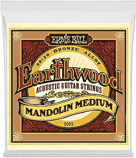 Ernie Ball Earthwood Mandolin Medium 80/20 Bronze Loop End Set, .010 - .036