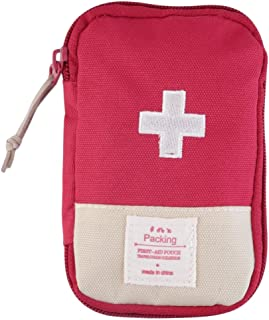 Prettyia Hiker Camping Home Outdoor Survival Pouch Portable First Aid Kit Bag Durable