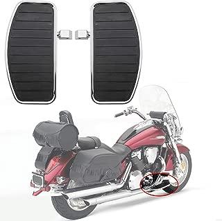 Artudatech Poggiapiedi Motocicletta Pedale Del Freno Copertura per Harley Touring Electra Street Glide 1996-2013 Nero