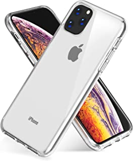 FetionSung Compatible with iPhone 11 Pro Case,Soft Silicone TPU Anti-Scratch Shock-Absorption Phone Cover Case for iPhone 11 Pro, Ultra Clear Phone Cover Case for iPhone 11 Pro 5.8 inch.