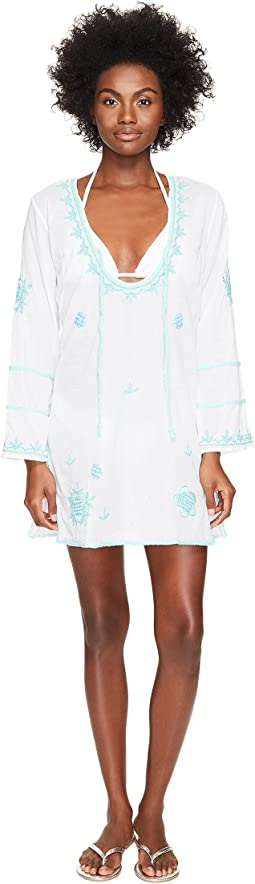 Letarte - Embroidered Cover-Up