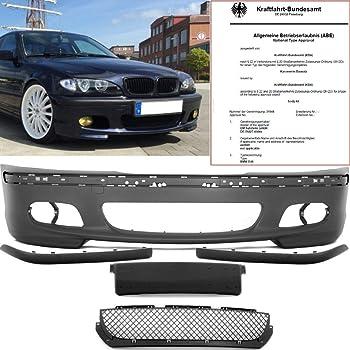 Jom 5111415 2jom Race Mesh And Spoiler Sport Look Front Bumper With Abnehmnbaren Grey Auto