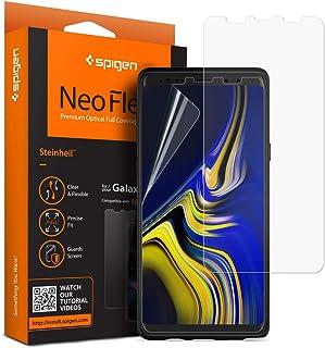 【Spigen】 Galaxy Note9 [ SC-01L SCV40 ] 対応 フィルム 【2枚セット】 透過率98%以上 撥油性 液晶 保護 曲面対応 簡単貼り付け TPU フィルム 599FL24732 (ネオ・フレックス)