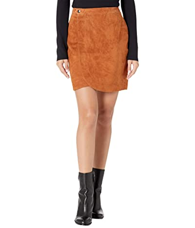 Blank NYC Real Suede Wrap Skirt (Sweater Weather) Women