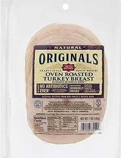 Dietz & Watson Originals Pre-Sliced No Antibiotics Ever Oven Roasted Turkey Breast, 7 oz