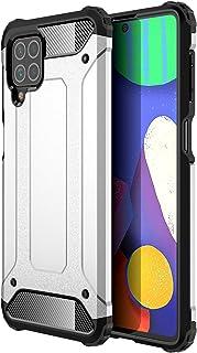 جراب TingYR لهاتف Samsung Galaxy M62، [مضاد للسقوط] جراب هاتف مضاد للصدمات مصنوع من البولي يوريثان اللدن بالحرارة / البولي...
