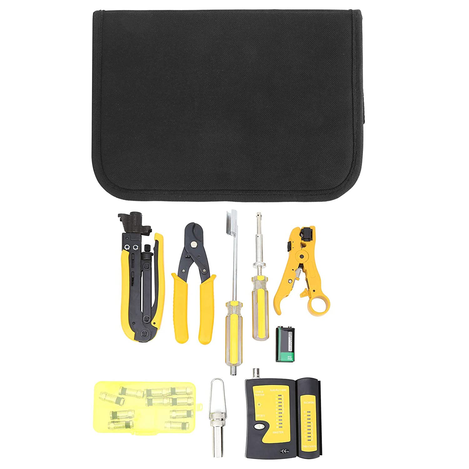 Coaxial F-Head Network Tools Trust Cable Multifunction Wire Kit 3-in-1 Popularity