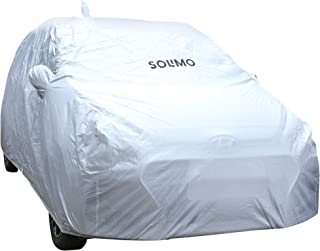Amazon Brand - Solimo Hyundai i20/Elite i20 Water Resistant Car Cover (Silver)