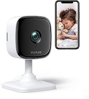 [2021 Nuova Versione] Victure Telecamera Wi-Fi Interno di Sorveglianza 1080 FHD Baby Monitor, Videocamera di Sicurezza, Ri...