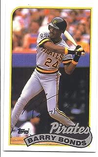 BARRY BONDS 1989 Topps Talk/LJN #106 Card Pittsburgh Pirates Baseball