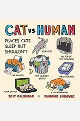 CAT vs HUMAN 2017 Wall Calendar Calendar