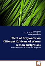 Effect of Greywater on Different Cultivars of Warm-Season Turfgrasses