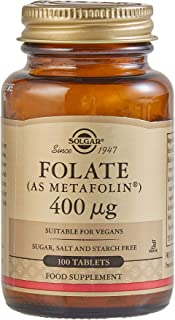 Folate 666 MCG DFE (Metafolin® 400 MCG) Tablets - 100 Count
