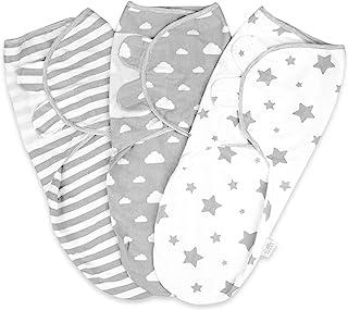Baby Swaddle Wrap nyfödd filt 0-3 månader 100 % ekologisk bomull swaddles