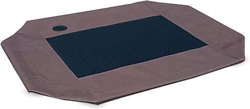 K&H Manufacturing Original Pet Cot Replacement Cover, Chocolate/Mesh, Large