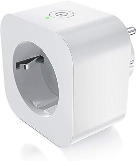 CSL WLAN stopcontact voor Amazon Alexa Google Home - met app-besturing - WiFi Smart Socket schakelbaar - WLAN bediening - ...