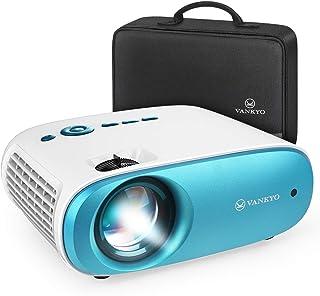 VANKYO HD プロジェクター 4200ルーメン Cinemago 100 小型プロジェクター ホームシアター 1080PフルHD対応 1920×1080最大解像度 収納ケ...