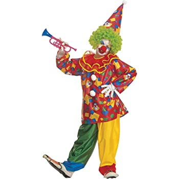 WIDMANN Widman - Disfraz de payaso de circo para niño, talla 6 ...