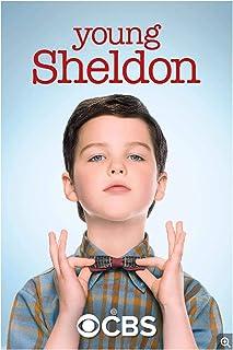 Vscdye Young Sheldon Saison 4 Films Classiques Affiches et Impressions Art Toile Peinture décor Art Affiche Impression sur...