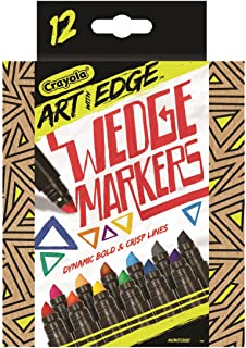 Crayola Art with Edge™ 12 Wedge Markers