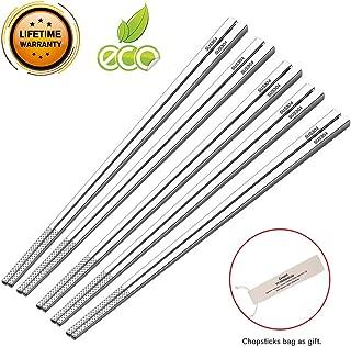 Best stainless steel chopstick set Reviews