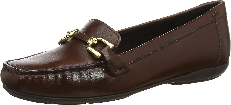Geox Geox Geox kvinnor Annytah 2 läder Bit Loafer Flat  bästa mode