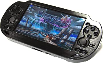 COSMOS Black Aluminum Metallic Protection Hard Case Cover for Playstation PS VITA 1000 Series, Fits for Oval Start & Selec...
