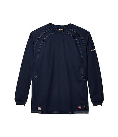 Ariat FR Work Crew T-Shirt (Navy) Men
