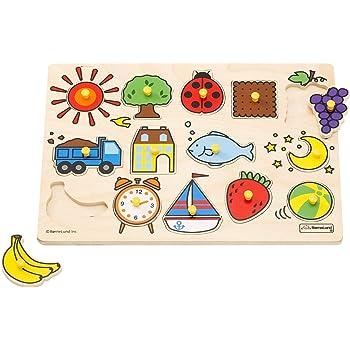 ボーネルンドオリジナル ピックアップパズル バラエティ [14ピース] 対象年齢 2歳 HY711910