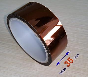 100ft High Temperature Heat Resistant Tape Polyimide Film Adhesive Kapton Tape
