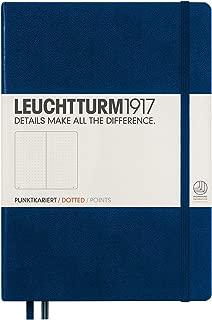 Best leuchtturm1917 hardcover medium dotted journal navy Reviews