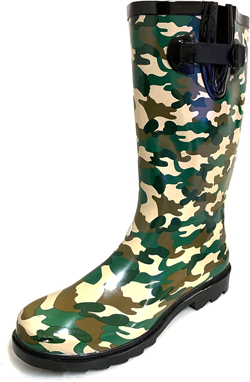 G4U Women's Rain Boots Special price Multiple Ranking TOP4 Styles Wellies Mid Calf Bu Color