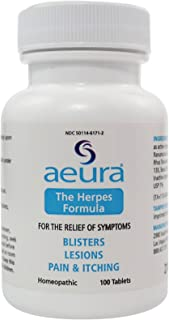 AEURA – The Herpes Formula | Relief for Herpes Symptoms | 100% Guaranteed Safe & Effective, All-Natural Tablets