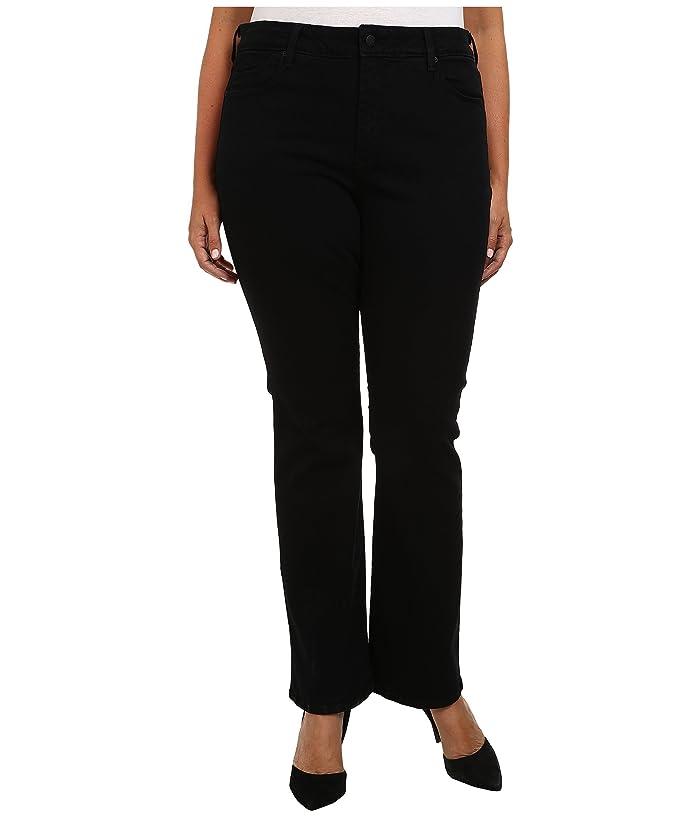 NYDJ Plus Size Plus Size Billie Mini Boot in Black (Black) Women's Jeans