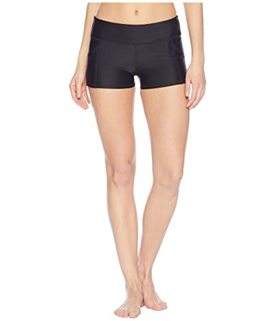 Body Glove Smoothies Rider Shorts (Black) Women