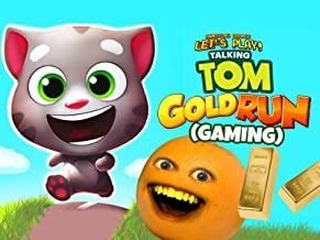 Clip: Annoying Orange Let's Play - Talking Tom Gold Run (Gaming)