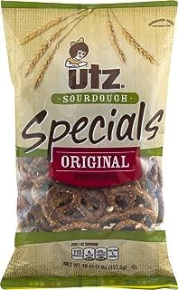 Utz Sourdough Specials Original Pretzels 16 oz. Bag (3 Bags)