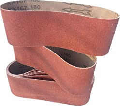 G36 457 x 75 mm RETOL bandes abrasives corindon de zirconium Lot de 10 ponceuses /à bande portatives p