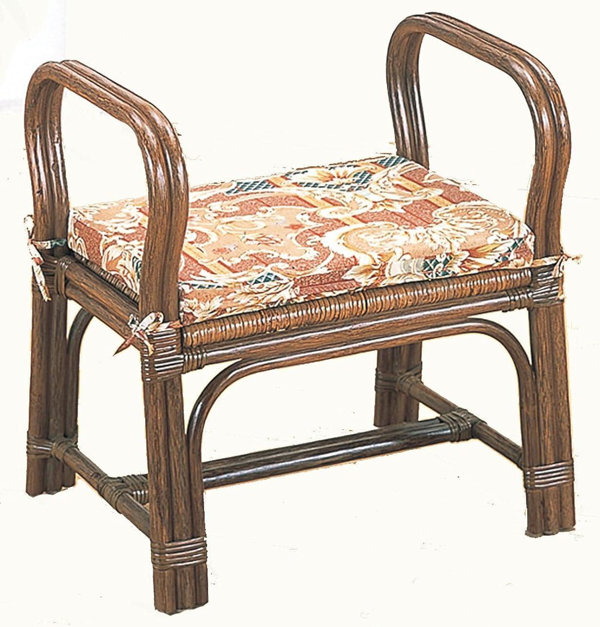 結核蒸気締め切り籐ちょこっと座椅子 ロータイプ S118B